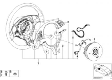 Sport st.whl.airbag-smart MF/decor.cover