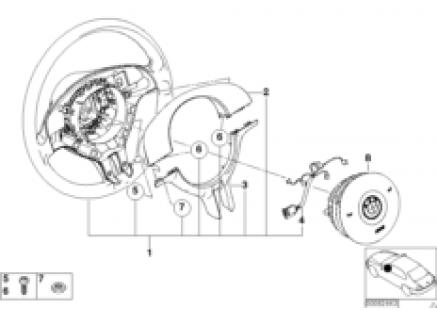 Sport st.whl.airbag-smart / decor.cover