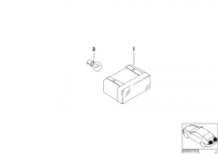 Addit.turn indicator lamp,trunk lid