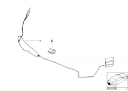 Fender antenna retrofit kit