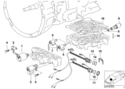 A4S 270R/310R solenoid valve/cable set