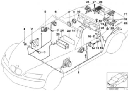 Parts f Harman Kardon top-hifi system
