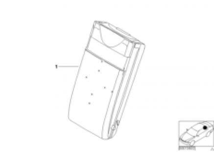 Individual multifunct. armrest, leather
