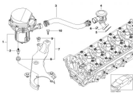 Emission control-air pump