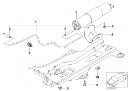 Fuel filter, pressure regulator
