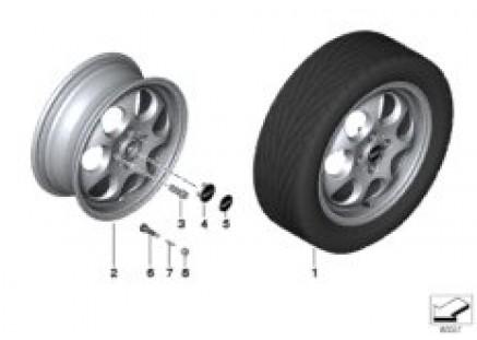 MINI alloy wheel 7-hole 81