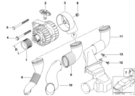 Alternator parts 120A/140A Valeo