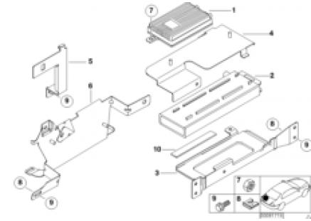 Single parts, SA 627, trunk