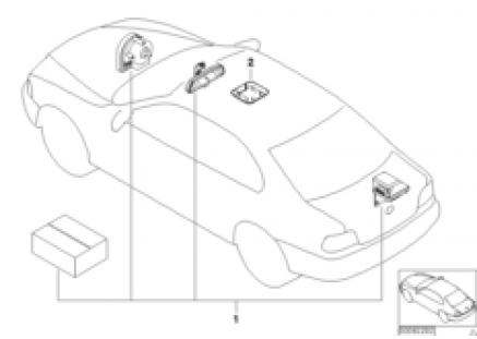 Installation kit alarm system