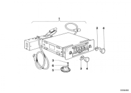 Cassetten radio