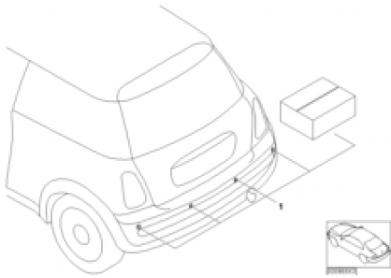 Install.kit, Park Distance Control