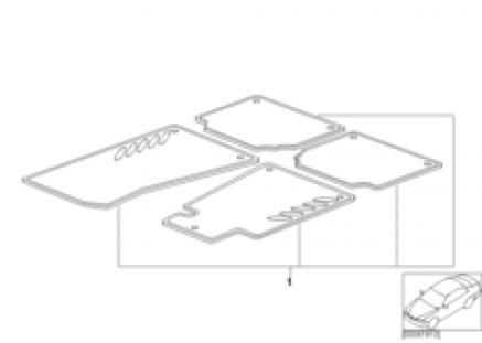 Alu-City floor mats