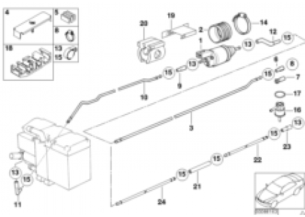 Fuel supply/pump/tubing
