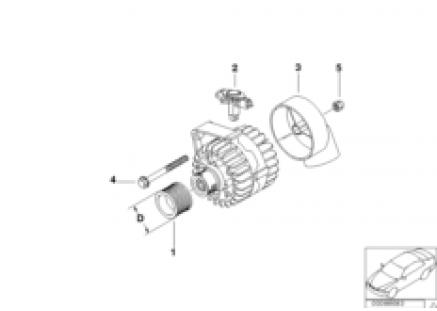 Alternator parts 120/140A Valeo