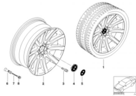 BMW LA wheel, star spoke 95