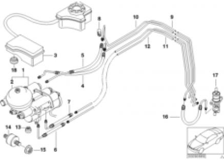 Clutch control M-transmission