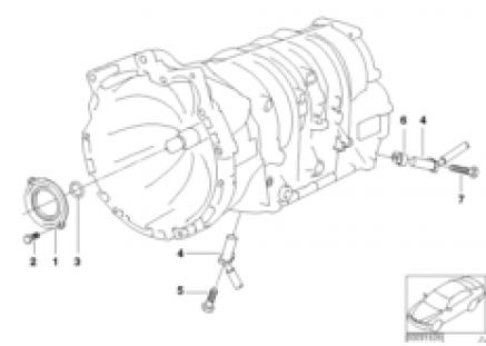 A4S200R sealing,input shaft/speed sensor