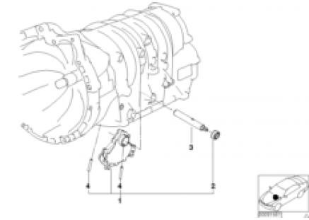A4S200R gear shifting parts