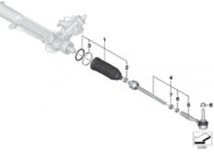 Steering linkage/tie rods