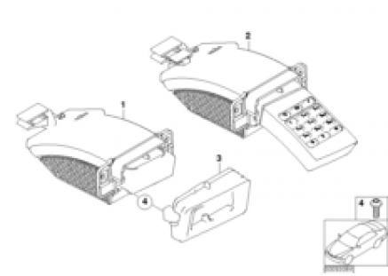 Phone board/drawer