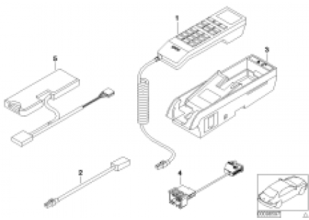 Single parts, Classic, center console