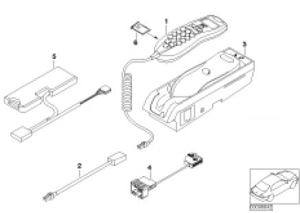 Single parts Apollo centre console