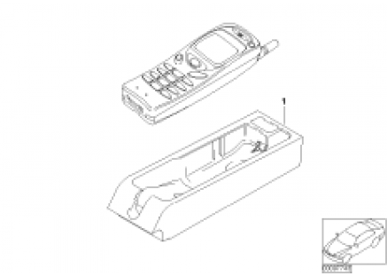 Single parts Nokia 3110 centre console