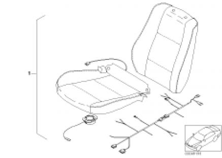 Active seat ventilation retrofit kit