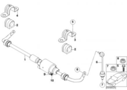 Rear stabilizer bar/Dynamic Drive