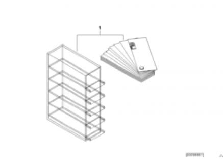Color sample box