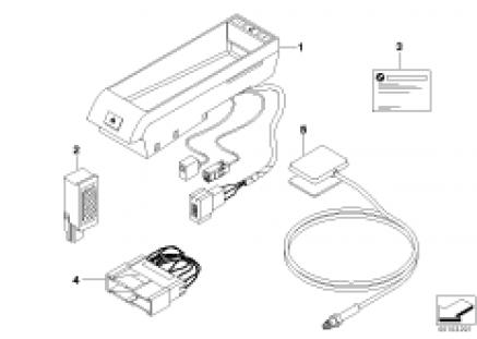 Single parts f Classic hands-free facil.