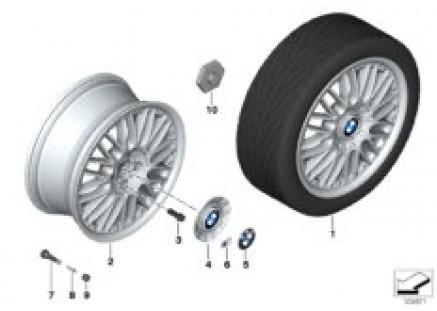 BMW compound wheel M cross spoke 101