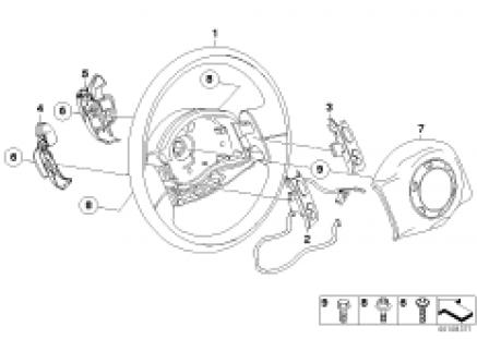 Strng whl airbag multifunct.Steptronic