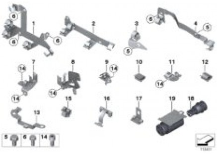 Cable Harness Fixings