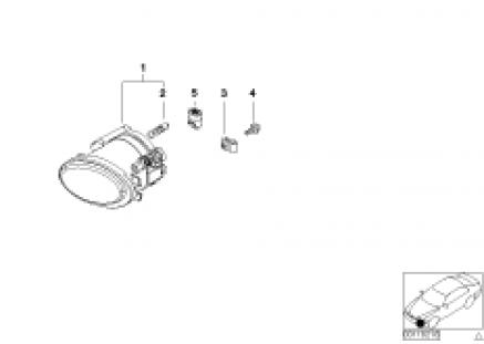 Fog lamp M-Technik