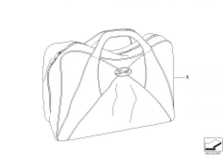 Interior bag f case