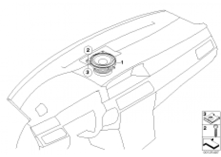 Components Top-HiFi instrument panel