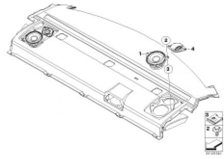 Individual Audio system tray