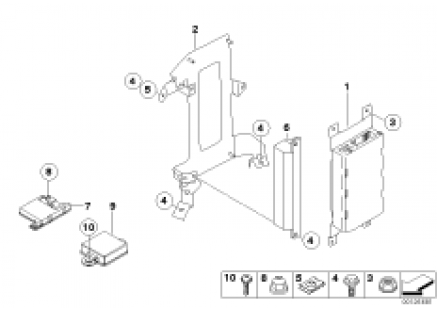 Single parts f teleph.luggage cptm.Japan