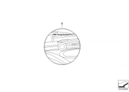 DVD navigation street map