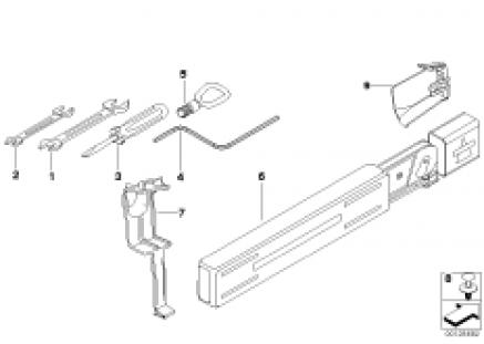 Car tool/warning triangle