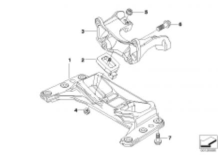 Gearbox suspension