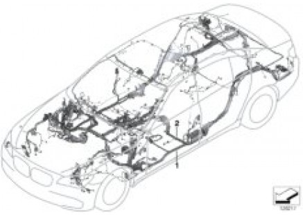 Main wiring harness from 03/05 on (LCI)