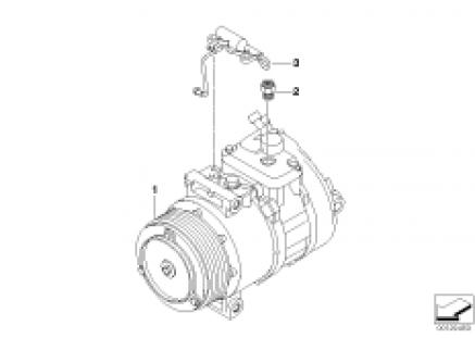 Compressore climatiz. - Ricambi Usati