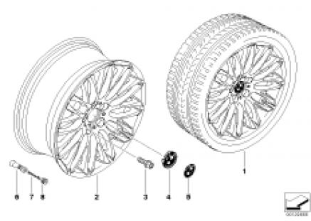 BMW LA wheel Y-spoke 149