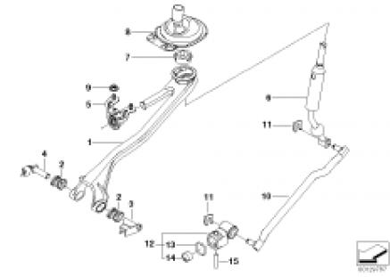 Gear shift parts,manual transm./4-wheel