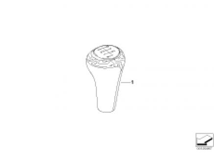 Individual gear shift knobs, wood
