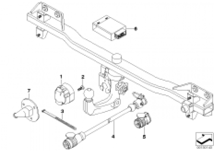 electric parts, towing hitch