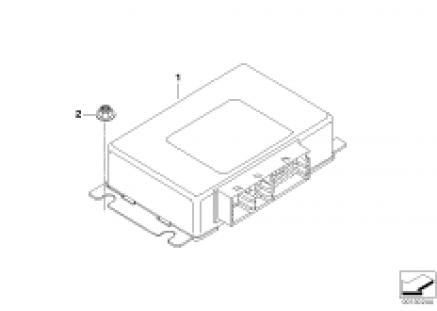 Control unit, transfer box