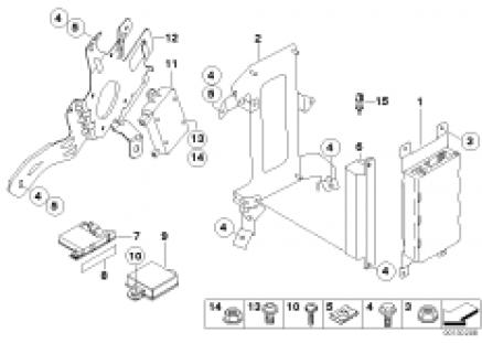 Single parts SA 639/SA 664, trunk